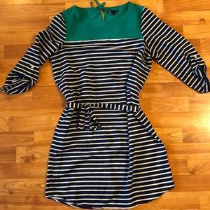 Gap striped dress (size M)